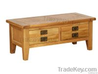 Coffee Table With 2 Drawers