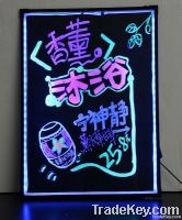 Big Led Fluorescent Board Writing with Marker Pen