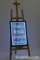 Easel Transparent Led Writing Board with Wooden Stand