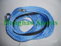 11MM 25M Synthetic Winch Rope Blue