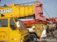 Used Tadano 80t Truck Crane