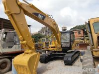 Used Caterpillar 320C crawler excavator