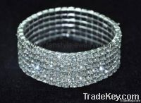 Rhinestone Series Bracelets & Bangle