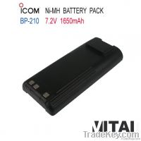 Wholesale OEM ICOM BP-210 Ni-Mh 1650mAh Handheld Radio Battery