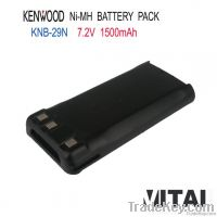 Wholesale OEM KNB-29N 1500mAh Ni-Mh Kenwood Radios Battry Pack