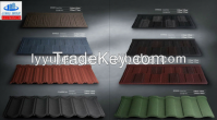 bond stone coated steel roofing tile/classic stone coated roof tile