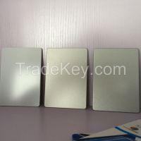 silver /ivory white  PE/PVDF Coated Aluminium Composite Panel/signboard panels