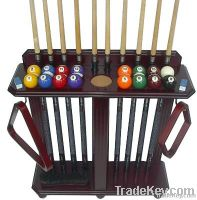 10 cue and ball floor rack �Made of wood