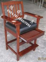 SC07N King Spectator Chair with Drawer