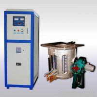 Induction metal melting furnace