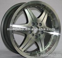 wheel rim with silver