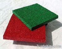 Anti-slipping epdm & rubber flooring tile