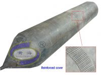 Patented dock rubber airbags for V-Shape ship launching