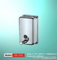 OK-175B 304 stainless steel wall-mounted liquid soap dispensers