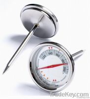 Meat Thermometer with Stainless Steel Probe T720