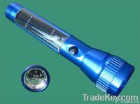 Solar 10 LED torch solar light
