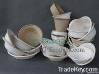 Bagasse pulp bowls