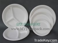 7 inch Biodegradable disposable party plates