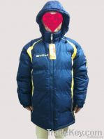 winter leisure men long jacket
