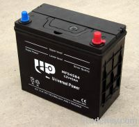 DIN Standard Maintenance Free Car Battery