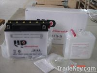 dry charged vented Motorcycle Battery YB7B-B 12V7AH