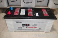 dry charged car battery 12v165ah