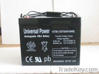 AGM lead acid battery 12V75AH