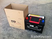 Maintenance free automotive battery 12V50AH