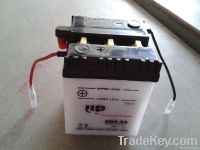 Dry charged vented Motorcycle battery 6N4-2A