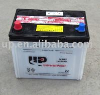 Dry charged car battery N50Z 12V 60AH