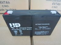 AGM lead acid battery 6V4AH