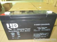 AGM lead acid battery 6V12AH