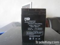 UPS/AGM/ lead acid battery 6V 4.5AH