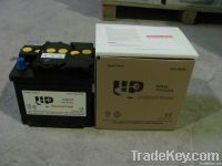 DIN Series Dry charged car battery