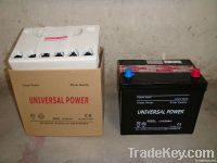 dry charged car/automotive battery N50L