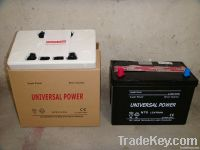 dry charged car/automotive battery N70L