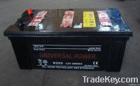 Car battery/starting battery /dry charged 12V200AH