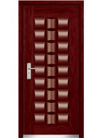 steel wood armored door