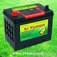12V60AH N60MF Sealed Maintenance Free Battery
