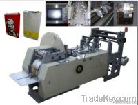 high speed paper bag making machine , food bag forming machine