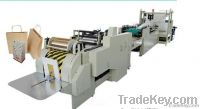 Roll feeding square bottom paper bag making machine LFD-330