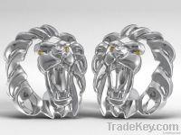 Lion Africa Cufflinks