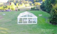 8m width transparent clear span tent for wedding, parties, ourdoor events