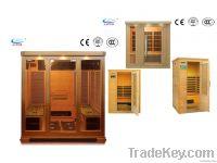 Luxurious 4-People Wooden Sauna Room (Customized)