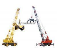 QLYS12HZ Dual-power Hydraulic Wheeled Straight Boom Grabbing Crane