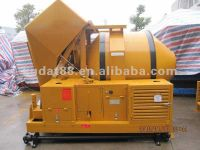 350L Mobile electric and diesel concrete mixer