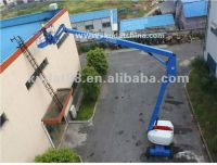 Self-propelled articulated lift