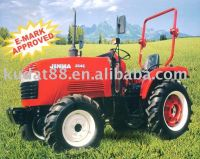35HP 4WD tractor with E-mark approved, JM354E EEC wheel tractor