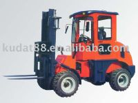 All Terrain Forklift (CPCY28small wheel loader)