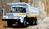 Mining dump truck
